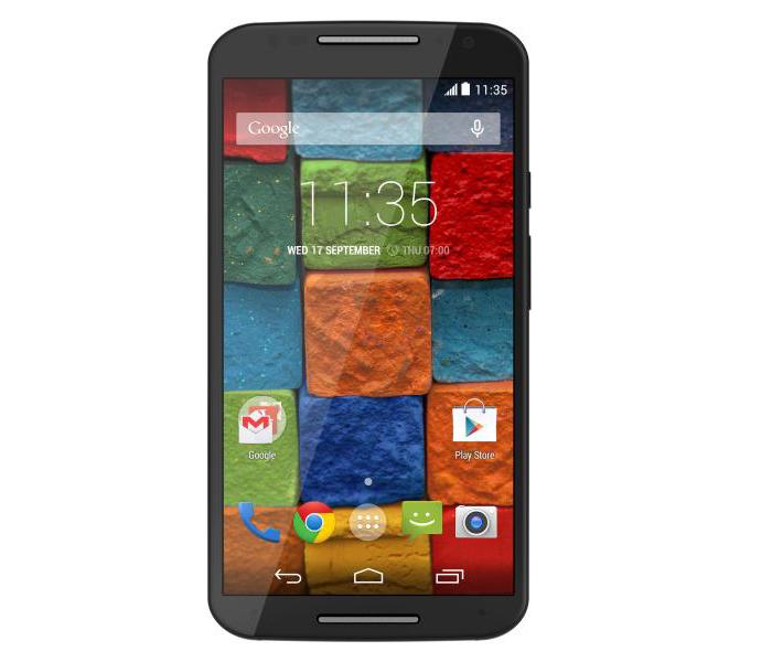 El Motorola Moto X ya en el catálogo de smartphones