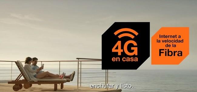 Velocidad 4G Orange en casa sin instalación