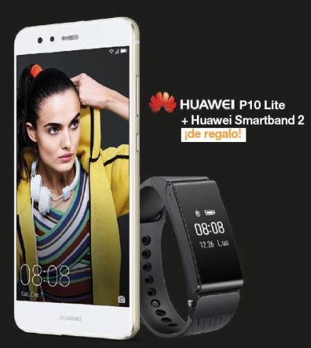 Nueva promoción en Tiendas Conexión: consigue una Huawei Band 2 con el P10 Lite