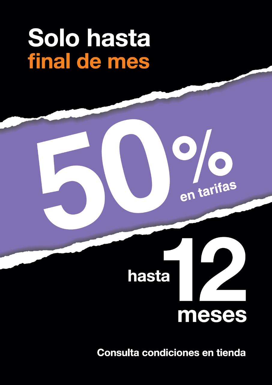 Ampliación del Black Friday en Tiendas Conexión: llévate un 50% en tu tarifa Orange