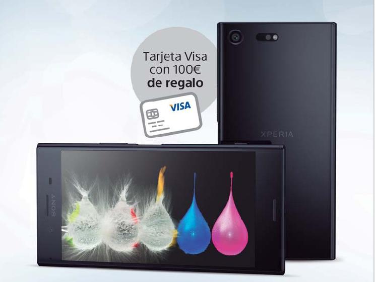 Consigue una tarjeta Visa con 100€ con tu Sony Xperia XZ Premium