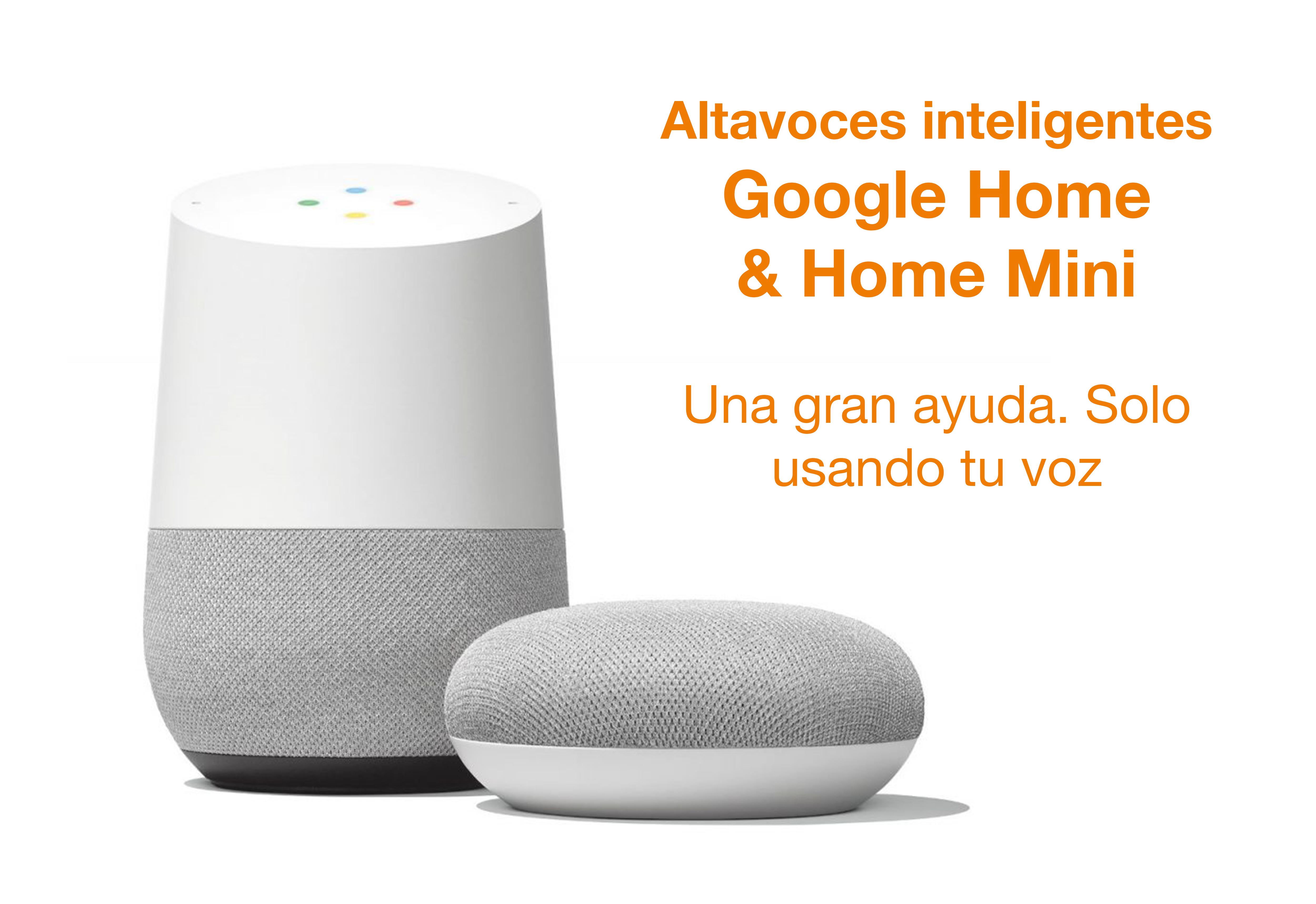 Google Home: una gran ayuda solo usando tu voz