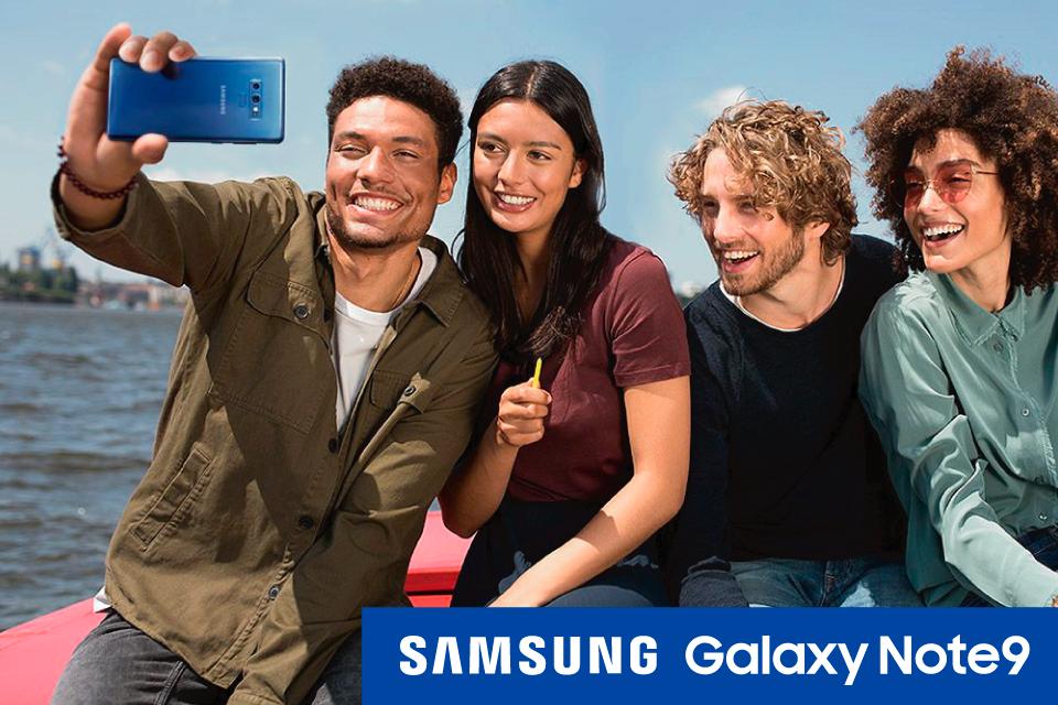Haz posible lo imposible con el nuevo Samsung Galaxy Note 9