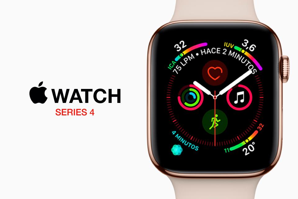 Ya disponible en Orange el nuevo Apple Watch Series 4 con eSIM
