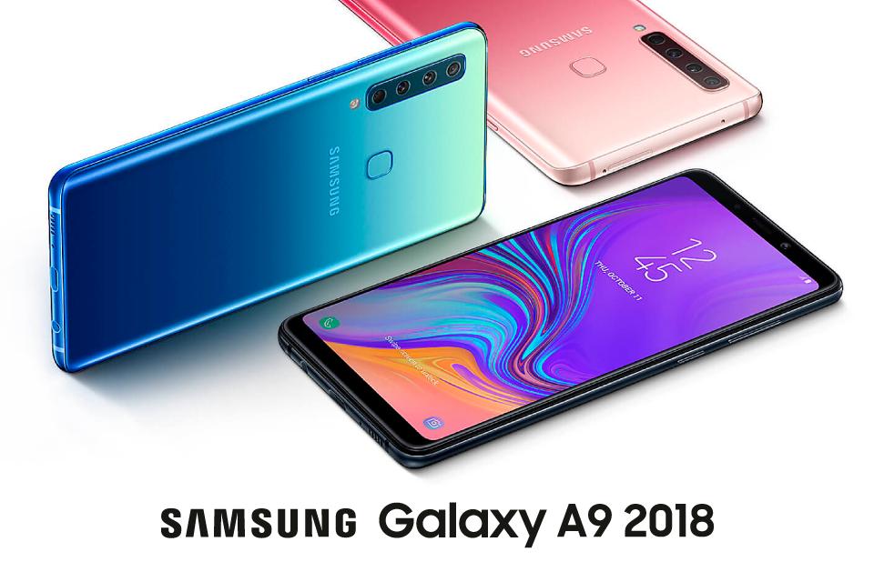 Samsung presenta su último lanzamiento: el Galaxy A9 2018