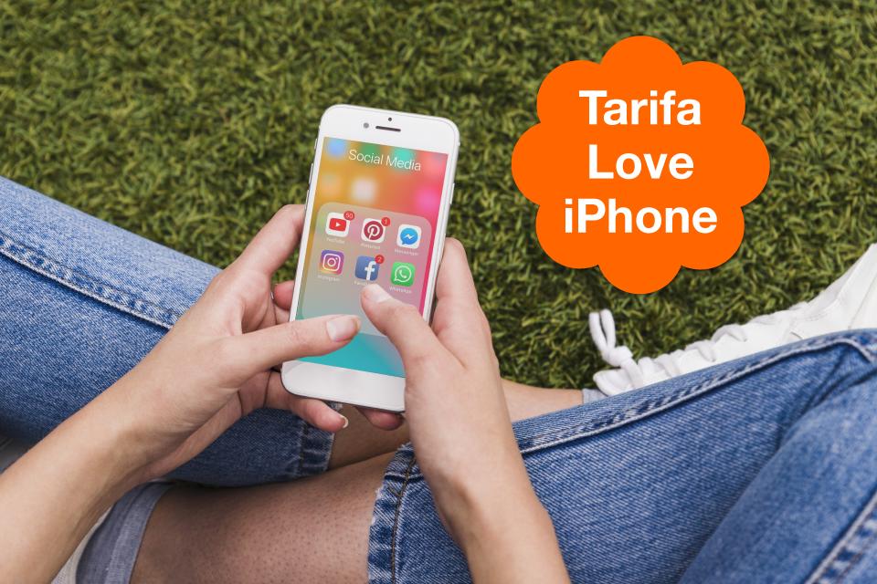 Descubre la nueva tarifa Love iPhone