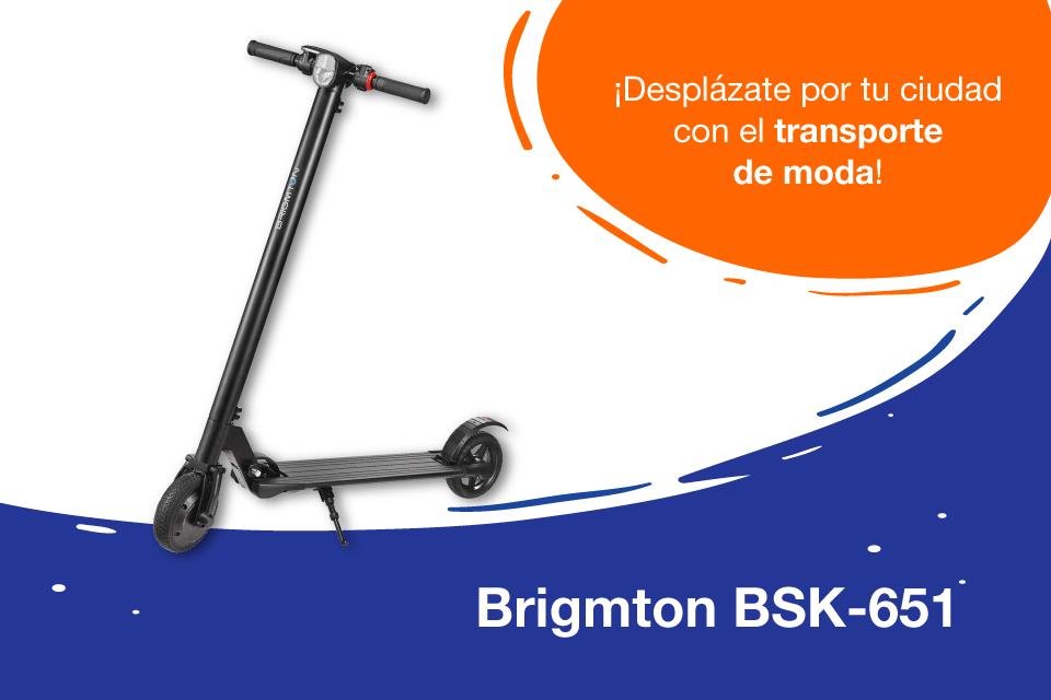 Brigmton BSK-651, el patinete eléctrico que estabas esperando