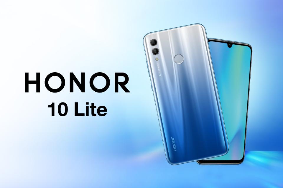 Honor 10 Lite, inspirado en el cielo