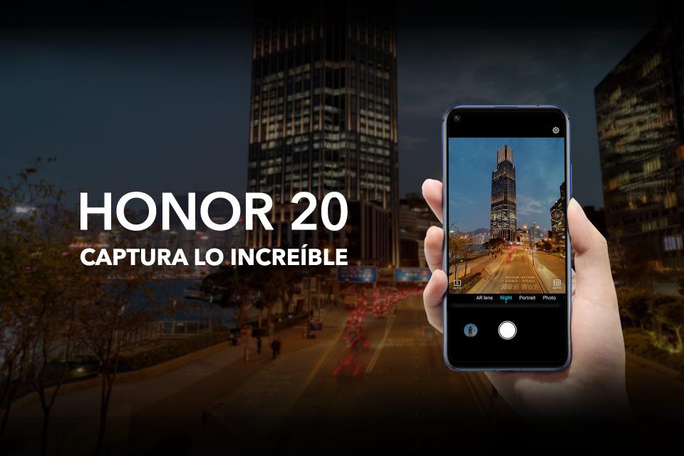 Inspiración, creatividad y belleza en el Honor 20