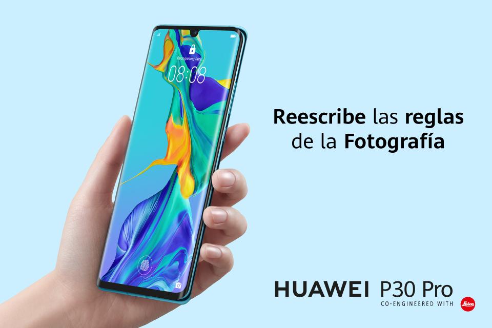 Reescribe las reglas de la fotografía con el Huawei P30 Pro