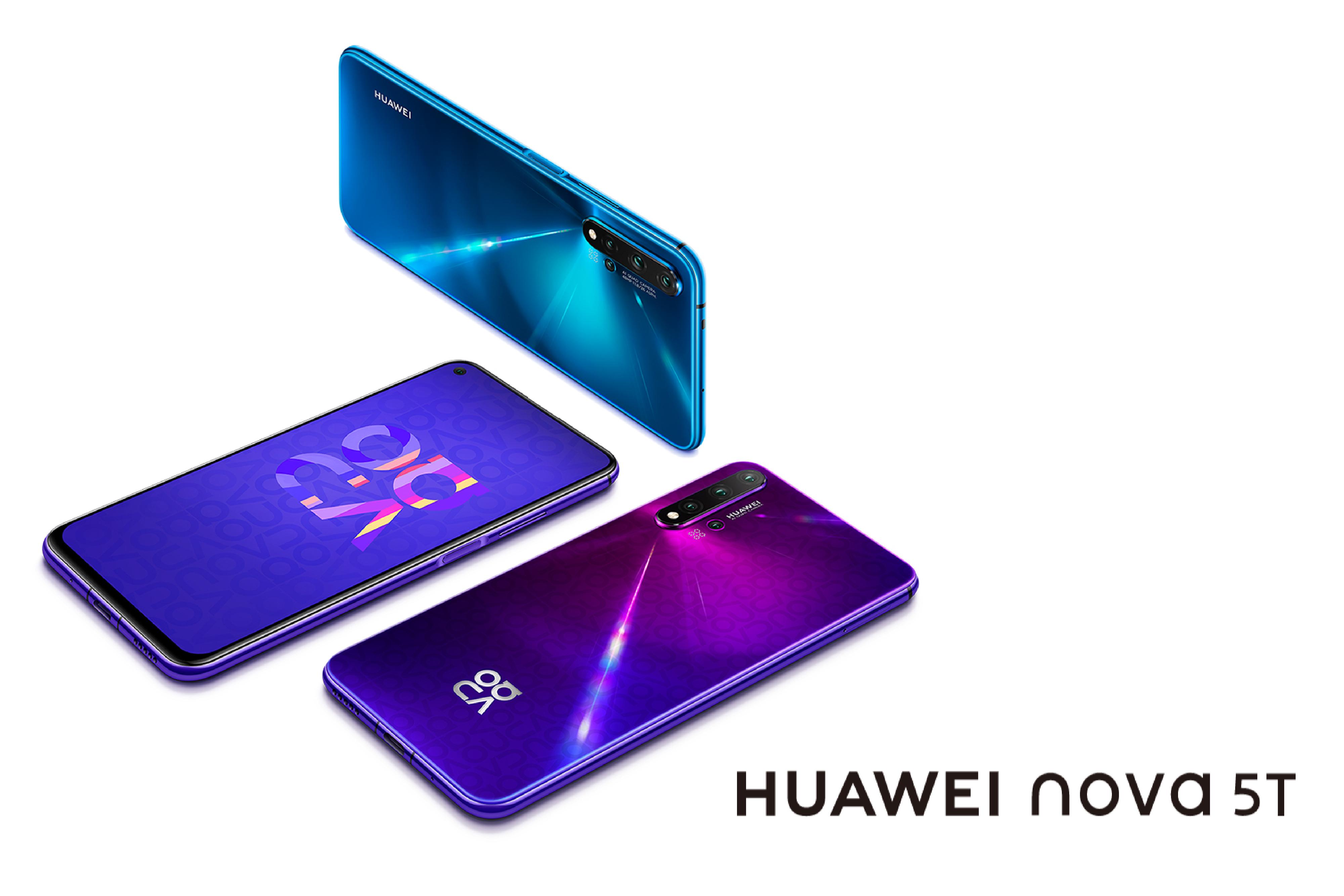 Huawei Nova 5T ¡Descúbrelo!