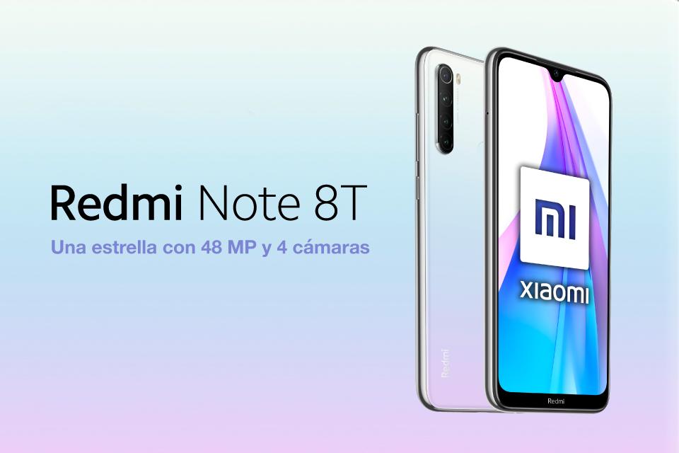 Xiaomi Redmi Note 8T: Una estrella con 48mp y 4 cámaras