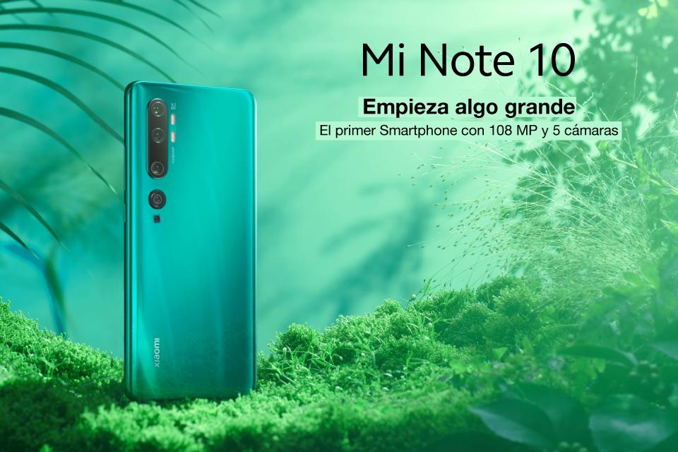 Xiaomi Note 10: ¿Te gustaría estar preparado para cualquier situación?