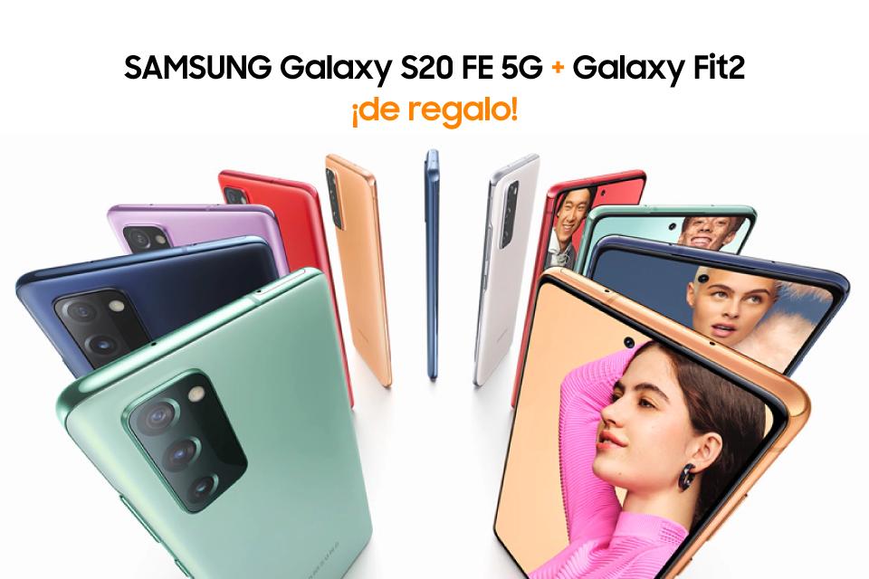 Descubre el nuevo Samsung Galaxy S20 FE 5G
