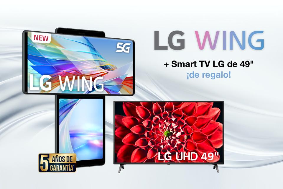 Dale un giro a tus sentidos con el nuevo LG Wing