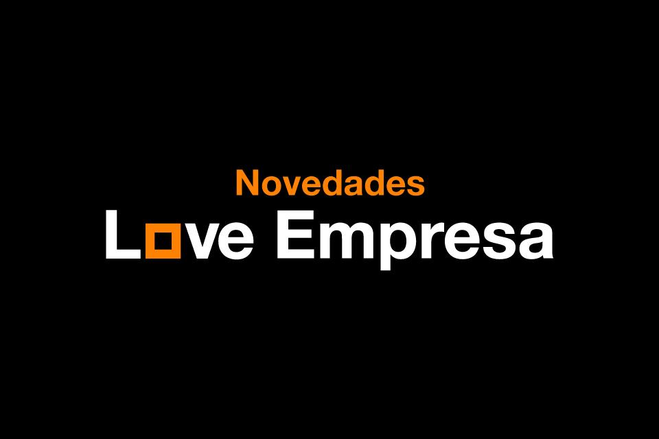 Novedades en las tarifas Love Empresa