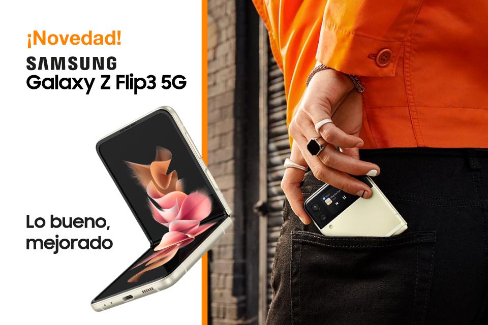 Ya está aquí el nuevo Samsung Galaxy Z Flip3 5G
